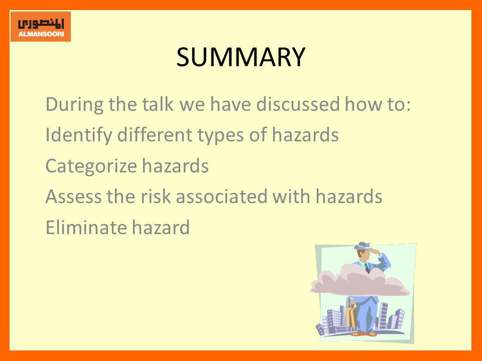 SUMMARY During the talk we have discussed how to: