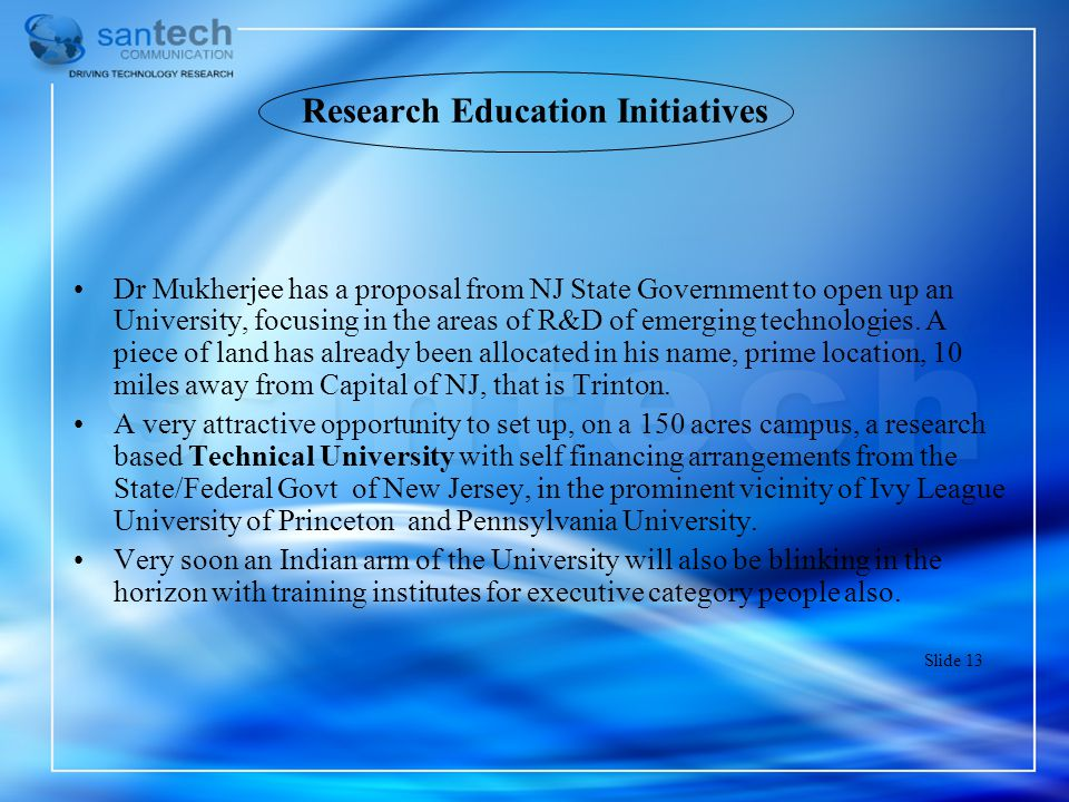 Research Education Initiatives
