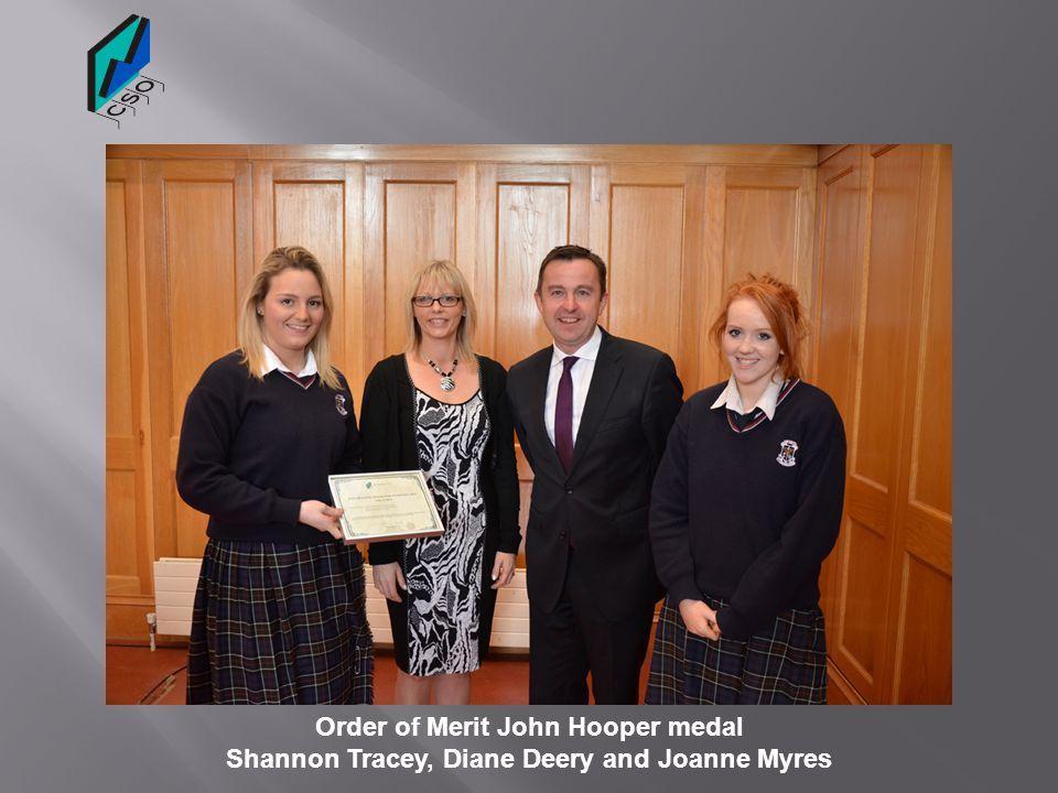 Order of Merit John Hooper medal