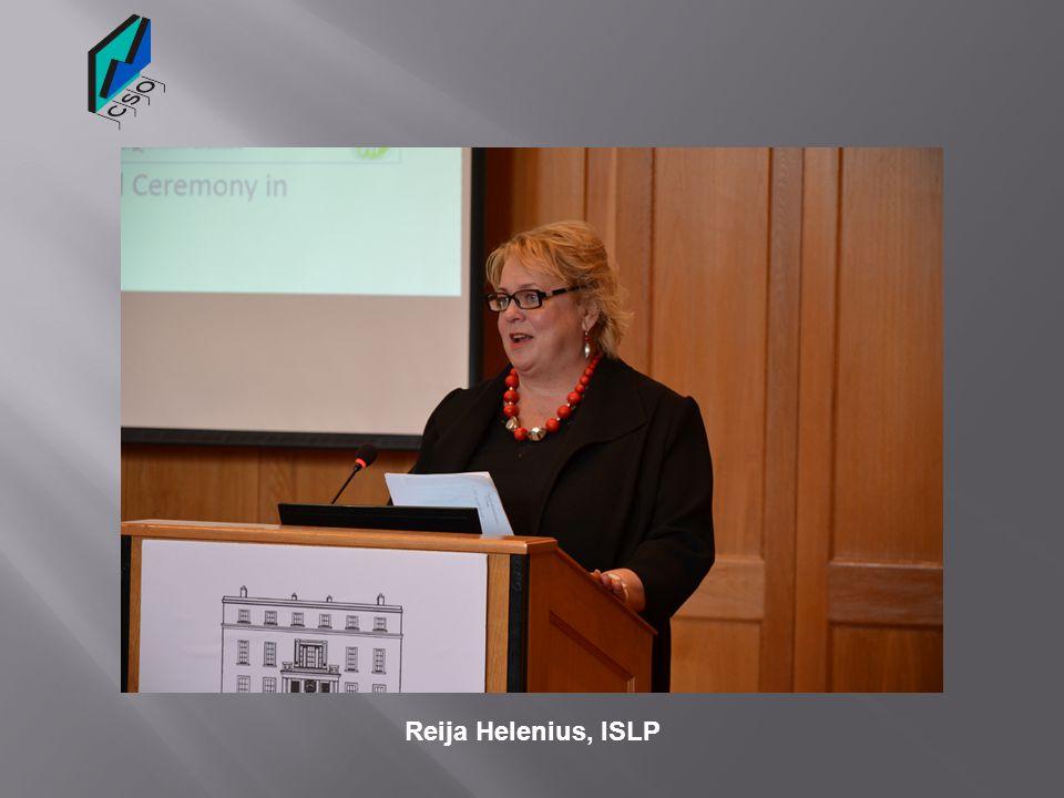 Reija Helenius, ISLP