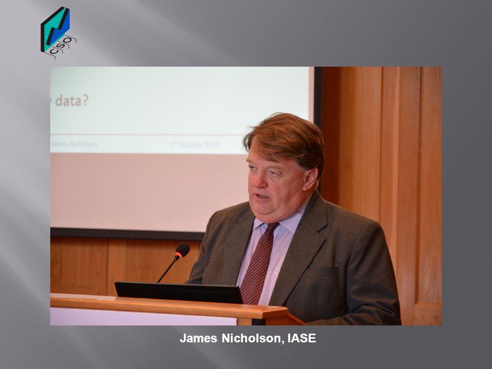 James Nicholson, IASE