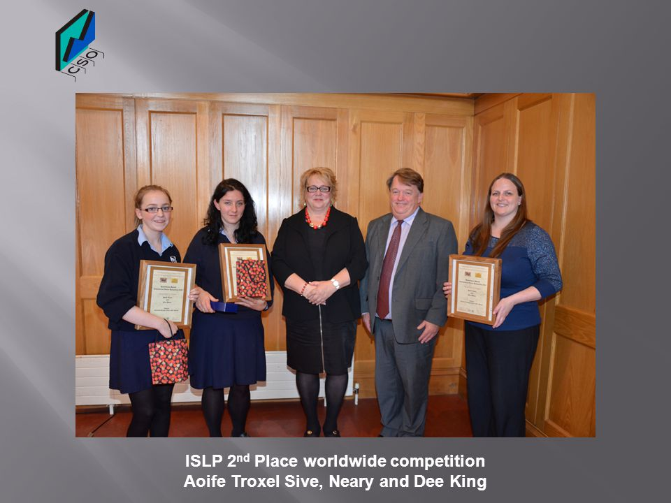 ISLP 2nd Place worldwide competition