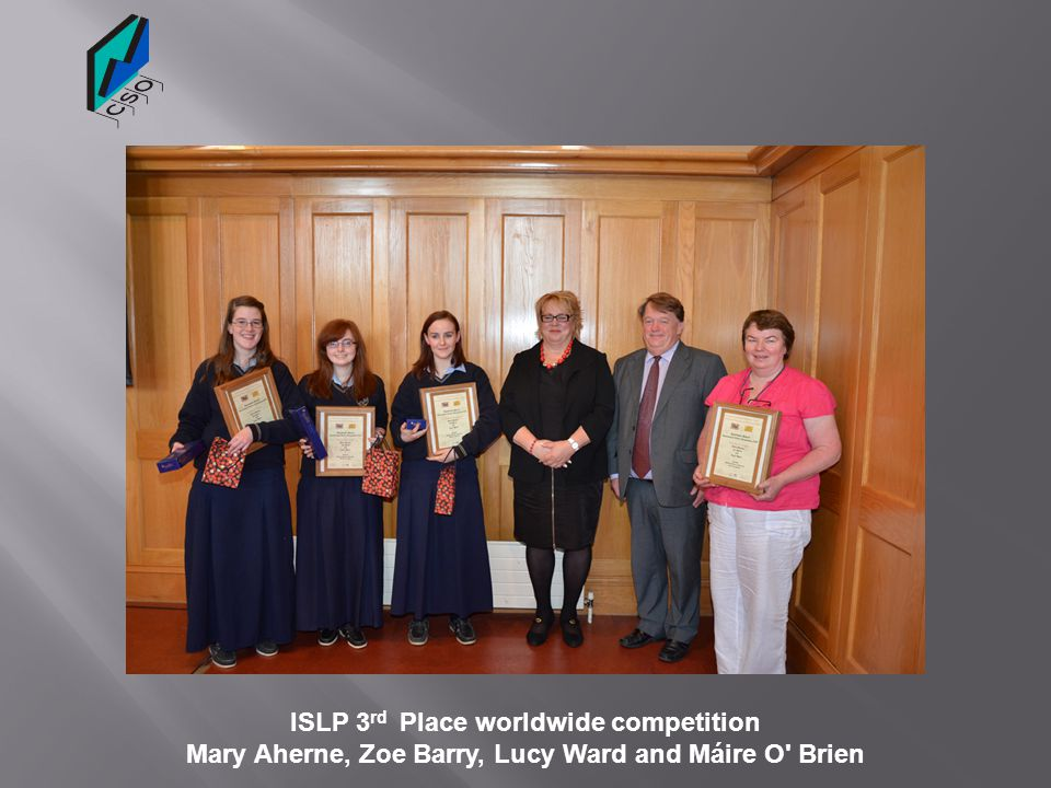 ISLP 3rd Place worldwide competition