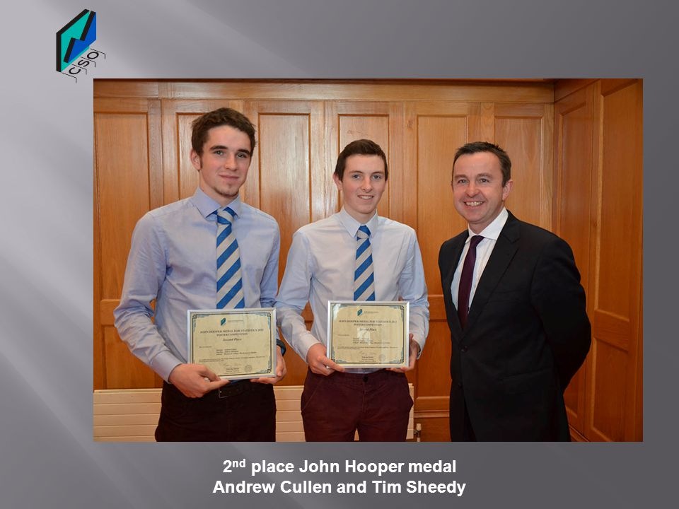 2nd place John Hooper medal Andrew Cullen and Tim Sheedy