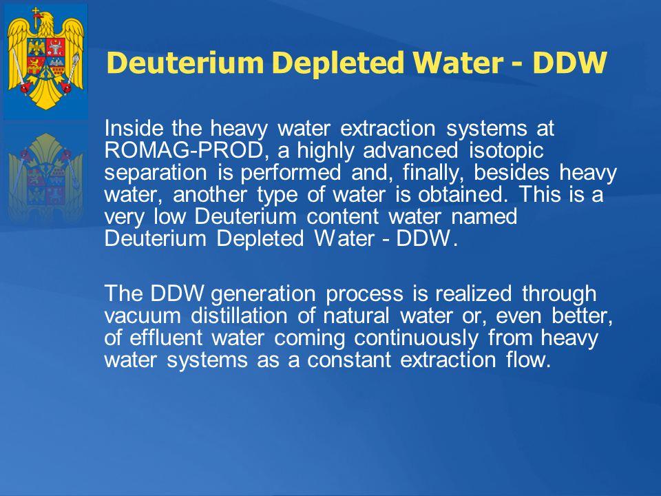 Deuterium Depleted Water - DDW