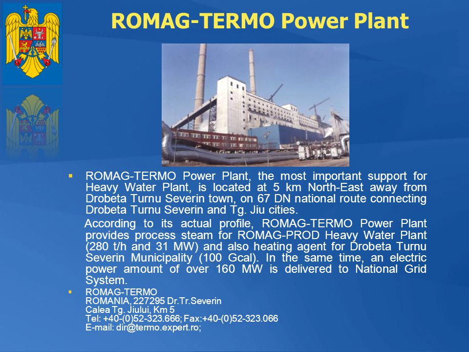 ROMAG-TERMO Power Plant