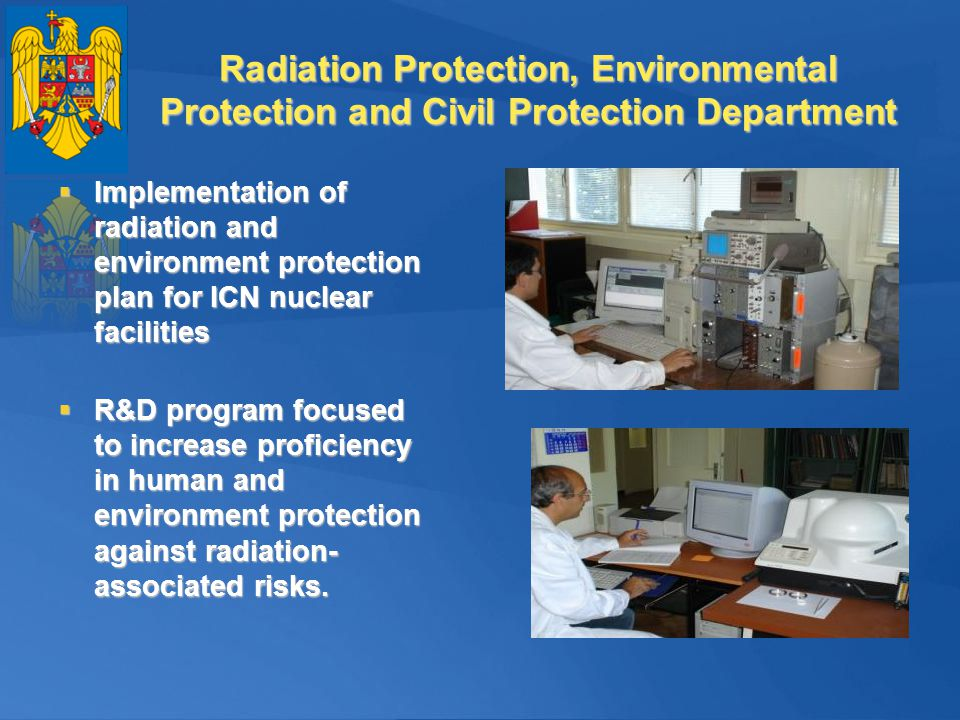 Radiation Protection, Environmental Protection and Civil Protection Department