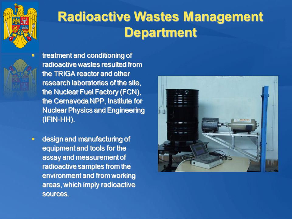 Radioactive Wastes Management Department