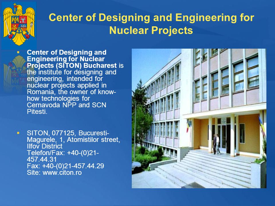 Center of Designing and Engineering for Nuclear Projects
