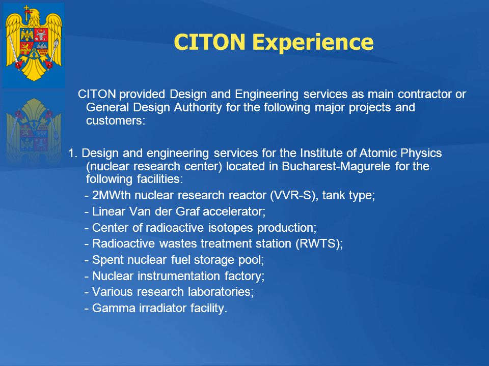 CITON Experience