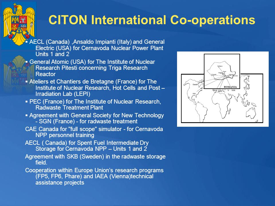 CITON International Co-operations