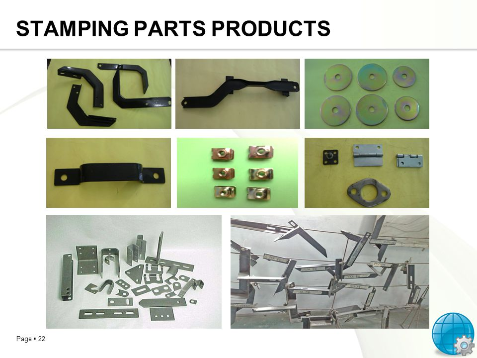 STAMPING PARTS PRODUCTS