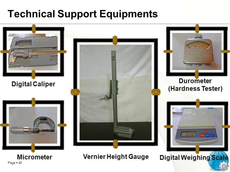 Technical Support Equipments