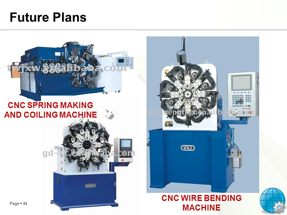 CNC SPRING MAKING AND COILING MACHINE CNC WIRE BENDING MACHINE