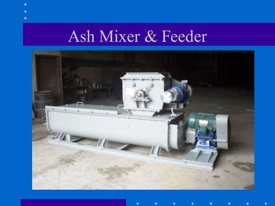Ash Mixer & Feeder