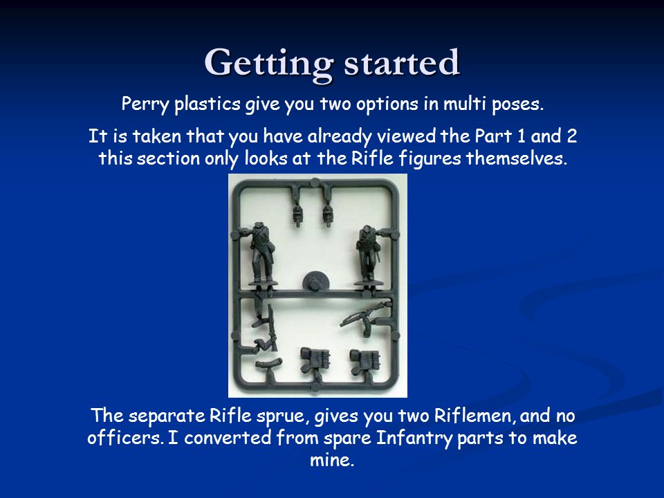 Perry plastics give you two options in multi poses.