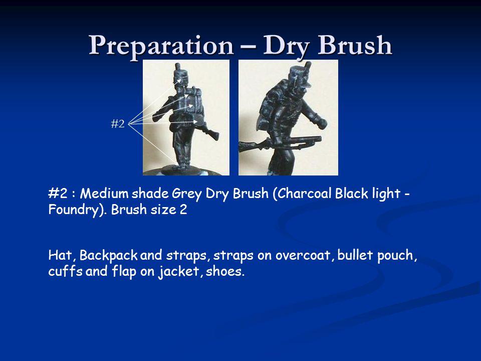 Preparation – Dry Brush