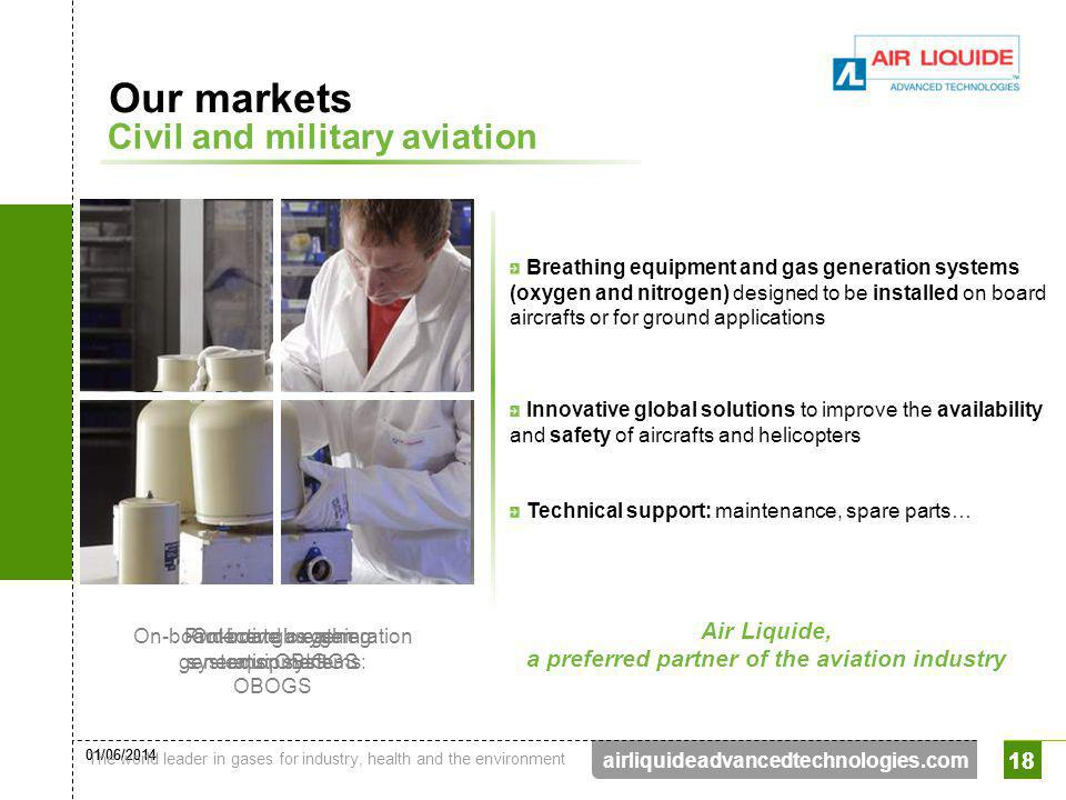 a preferred partner of the aviation industry