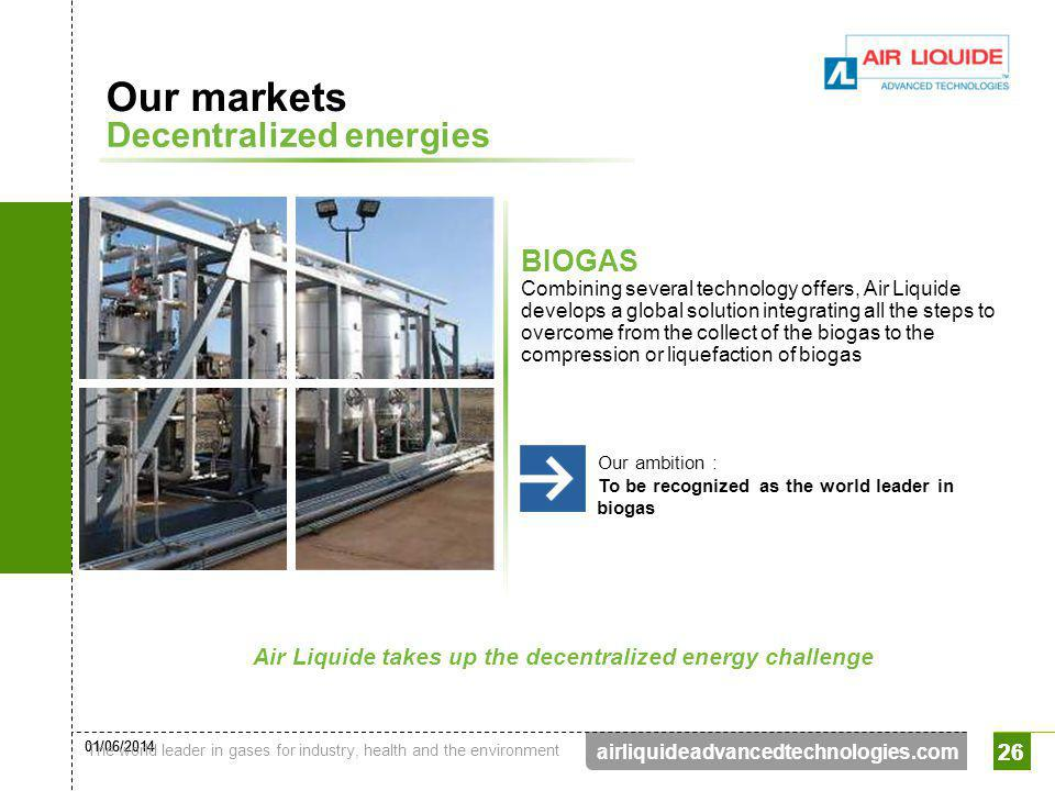 Air Liquide takes up the decentralized energy challenge