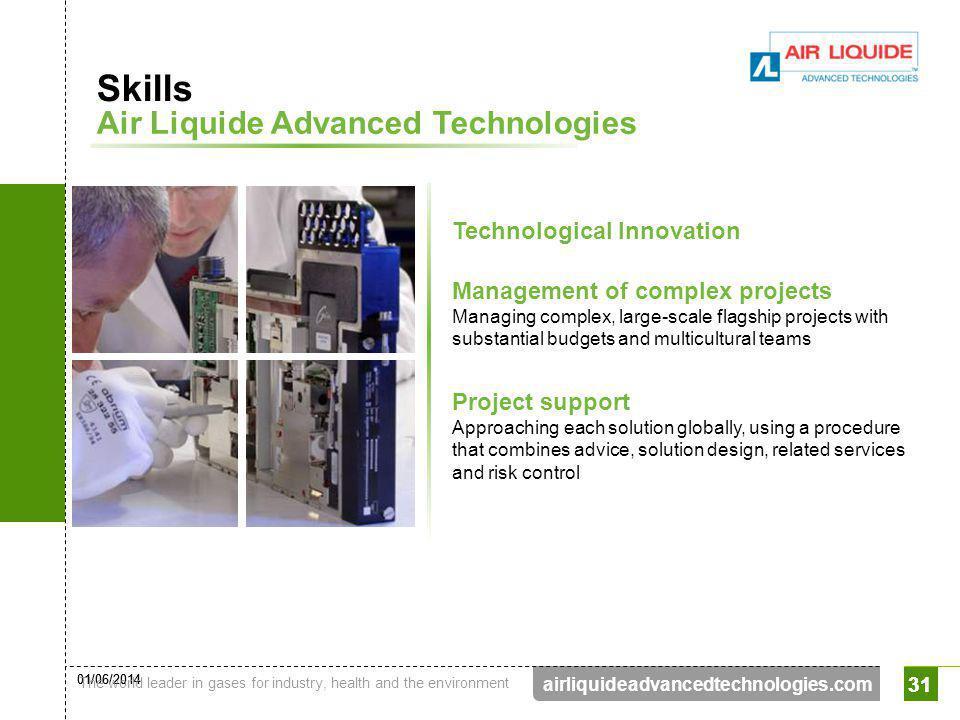 Skills Air Liquide Advanced Technologies Technological Innovation