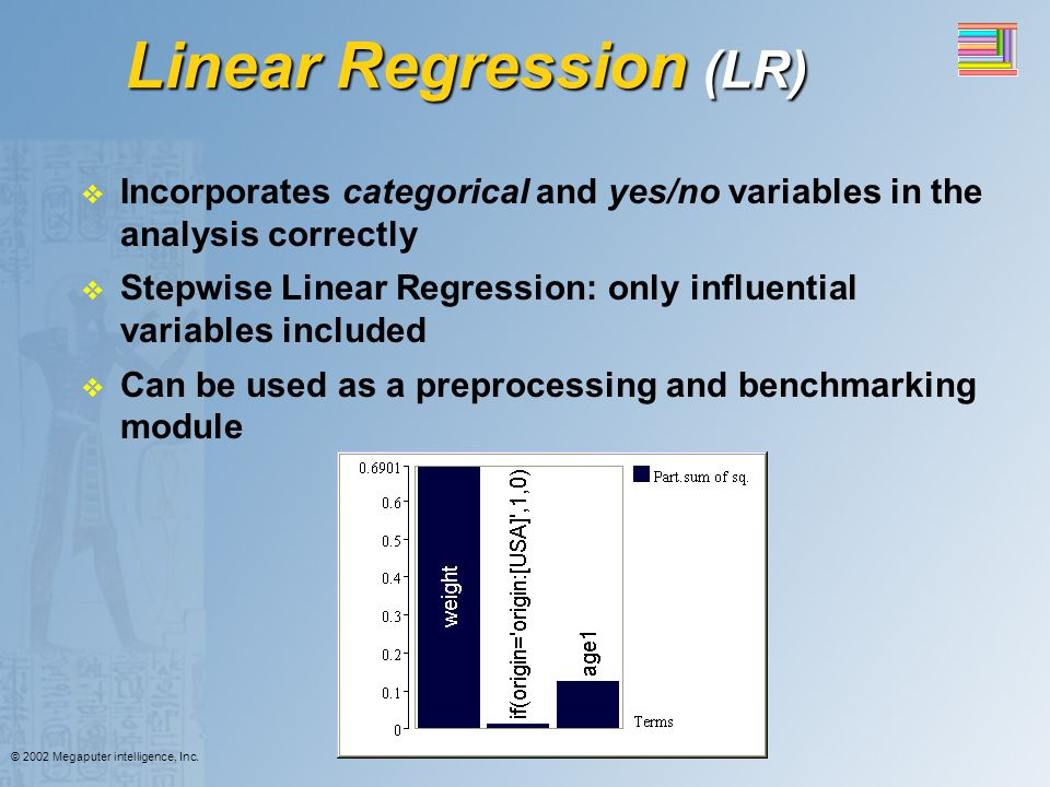 Linear Regression (LR)