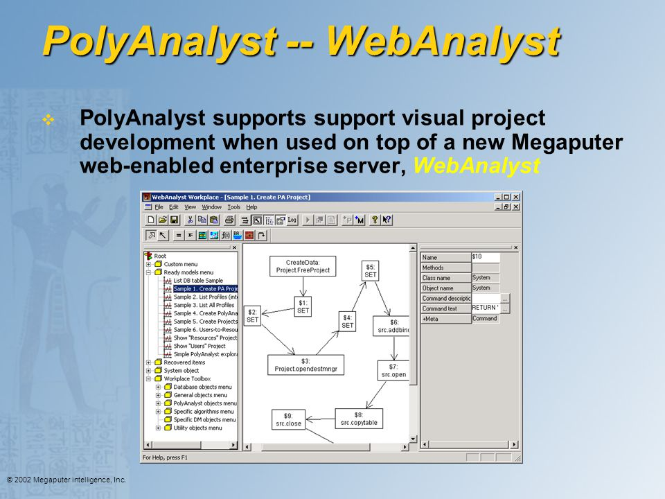 PolyAnalyst -- WebAnalyst