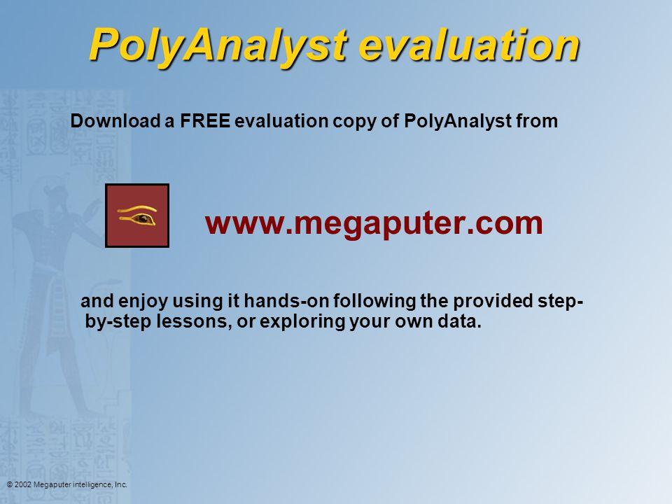 PolyAnalyst evaluation
