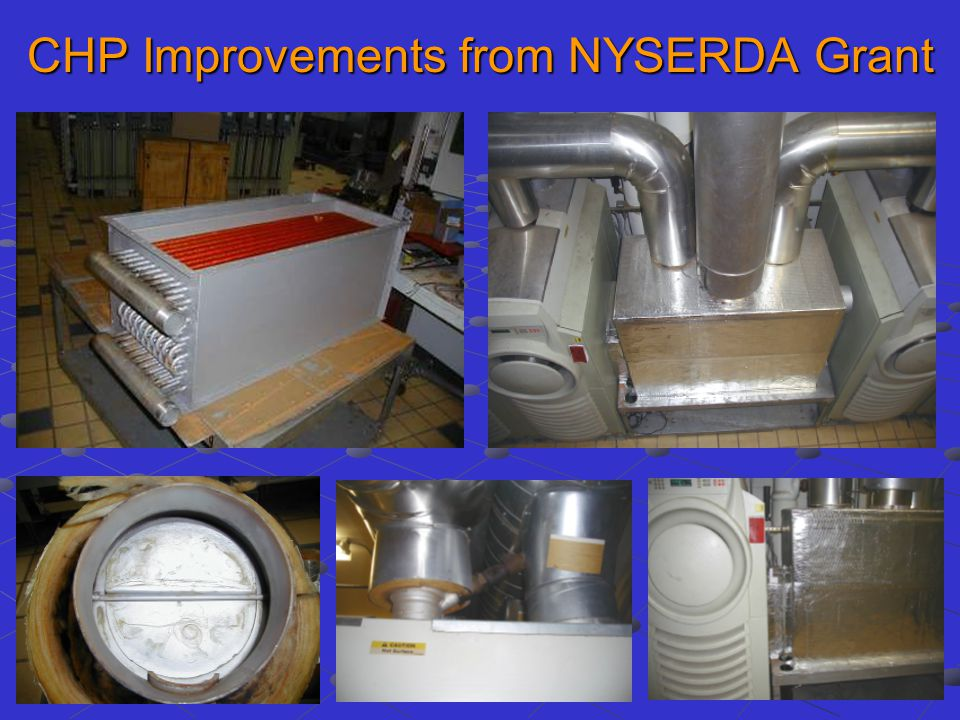 CHP Improvements from NYSERDA Grant