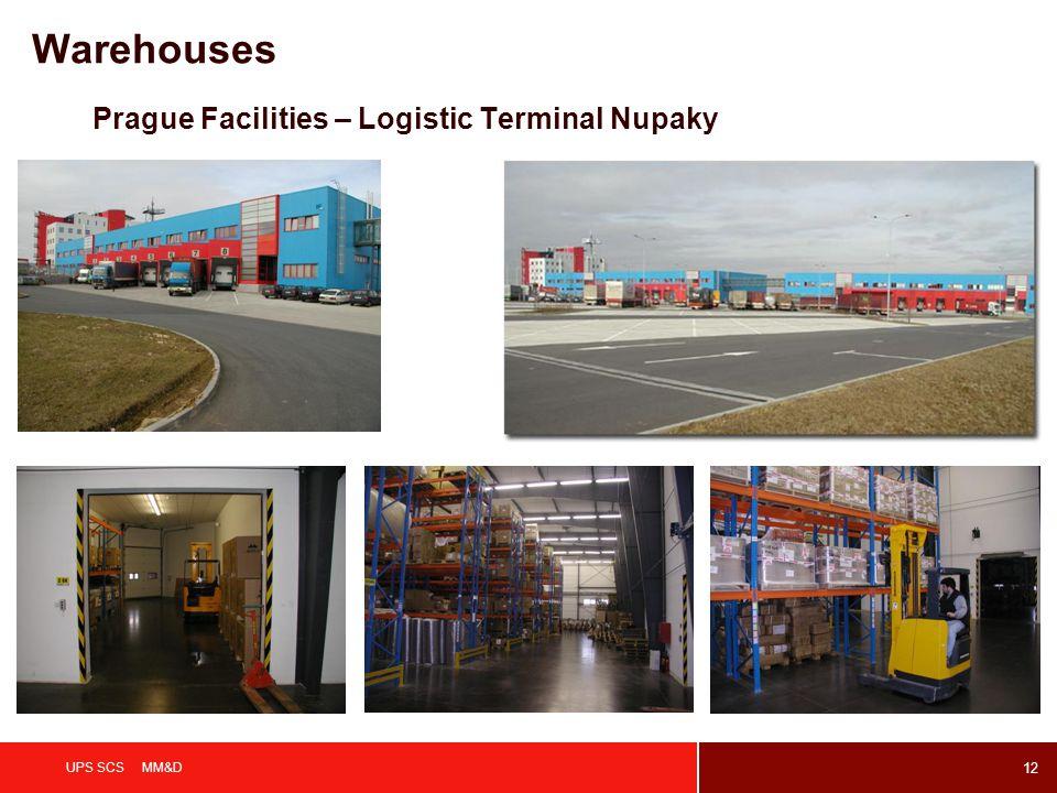 Warehouses Prague Facilities – Logistic Terminal Nupaky UPS SCS MM&D