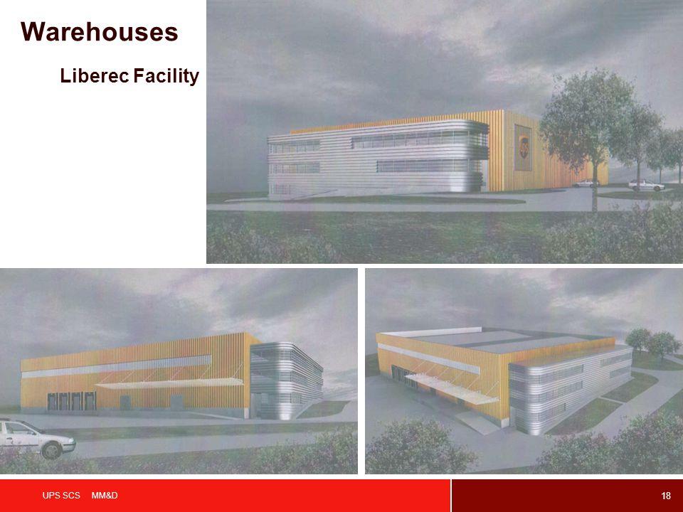 Warehouses Liberec Facility UPS SCS MM&D