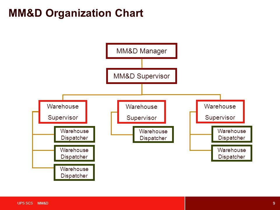 MM&D Organization Chart
