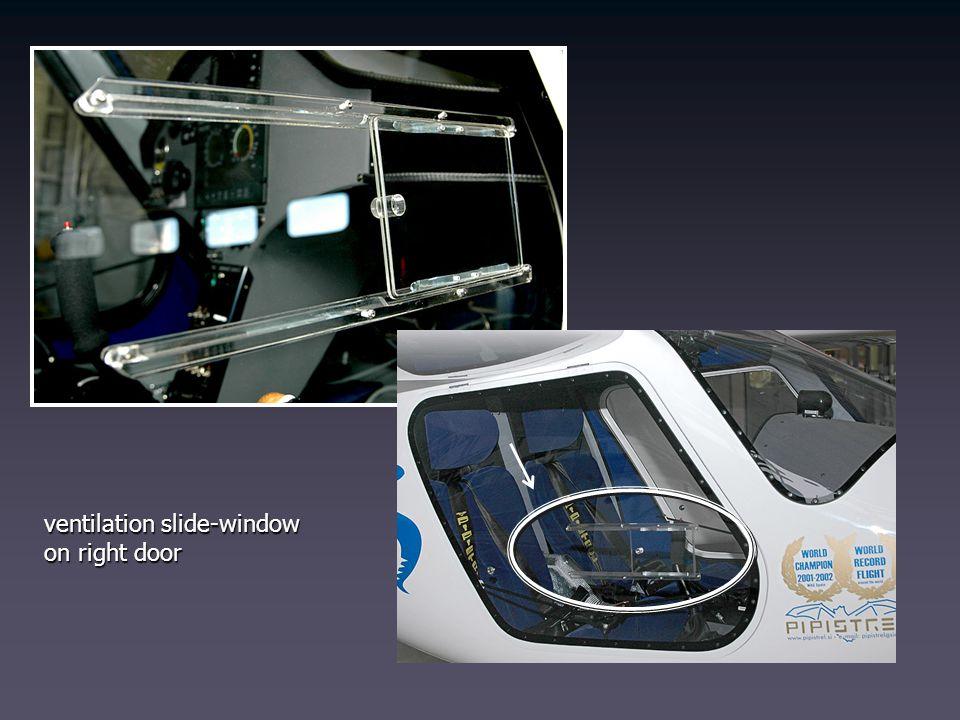 ventilation slide-window