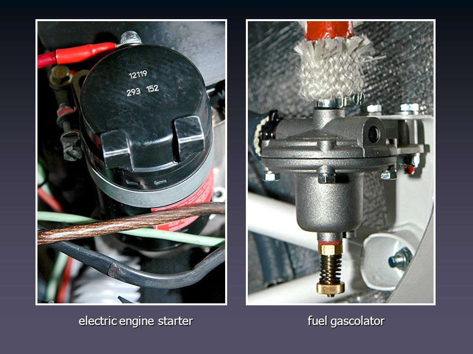 electric engine starter