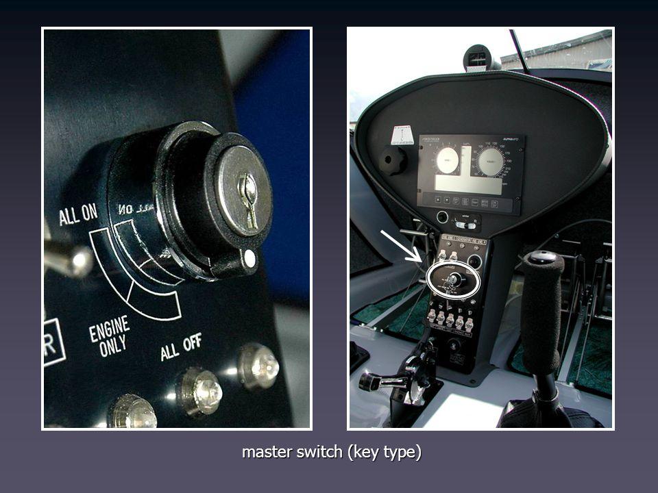 master switch (key type)