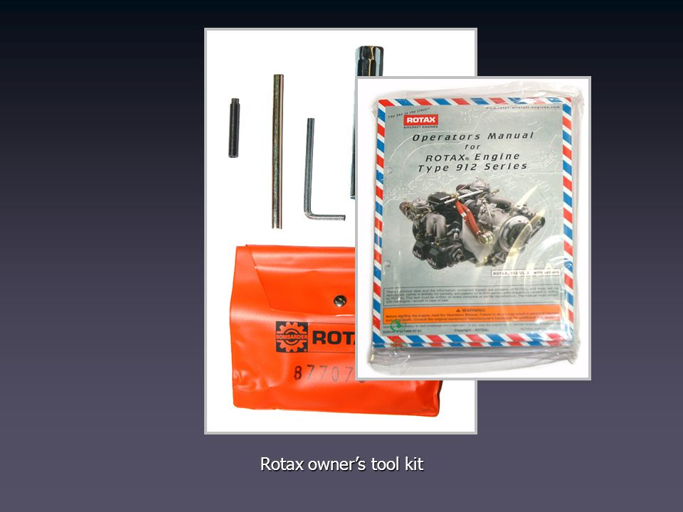 Rotax owner's tool kit