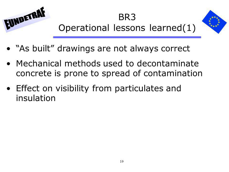 BR3 Operational lessons learned(1)