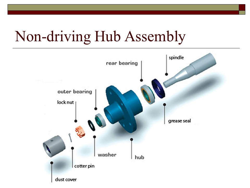 Non-driving Hub Assembly