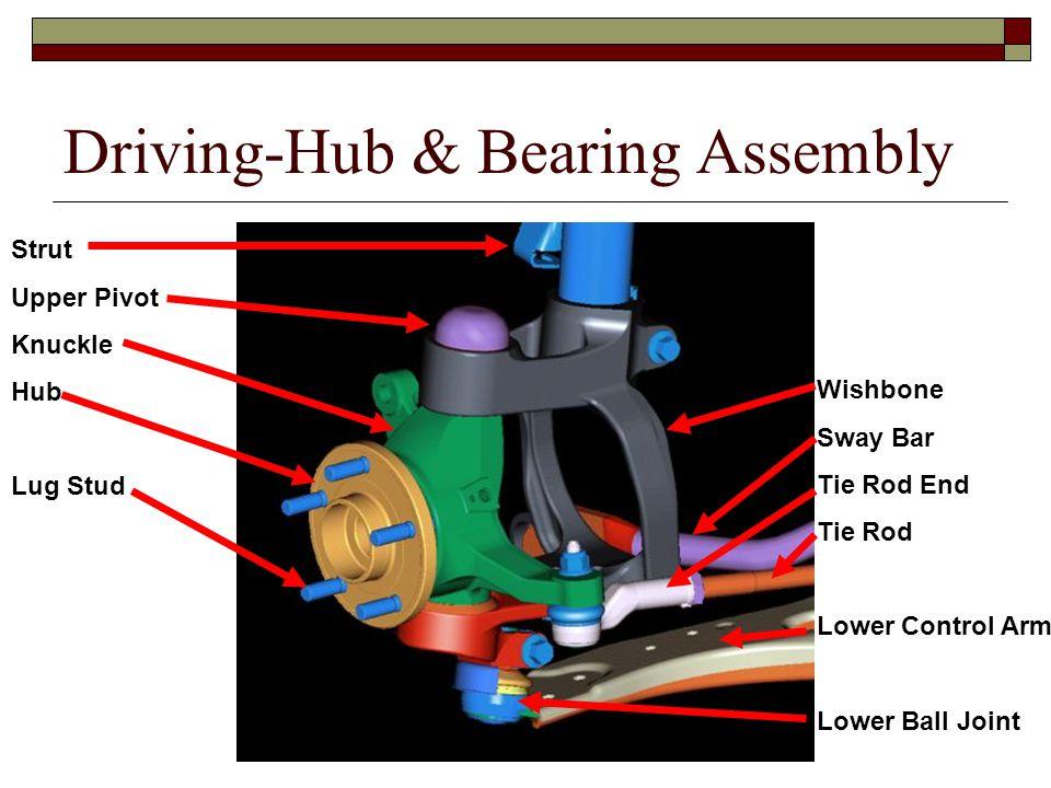 Driving-Hub & Bearing Assembly