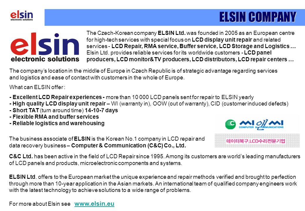 ELSIN COMPANY