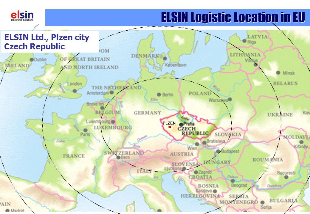 ELSIN Logistic Location in EU