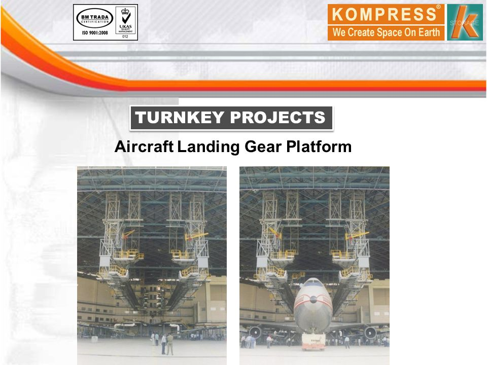 TURNKEY PROJECTS Aircraft Landing Gear Platform