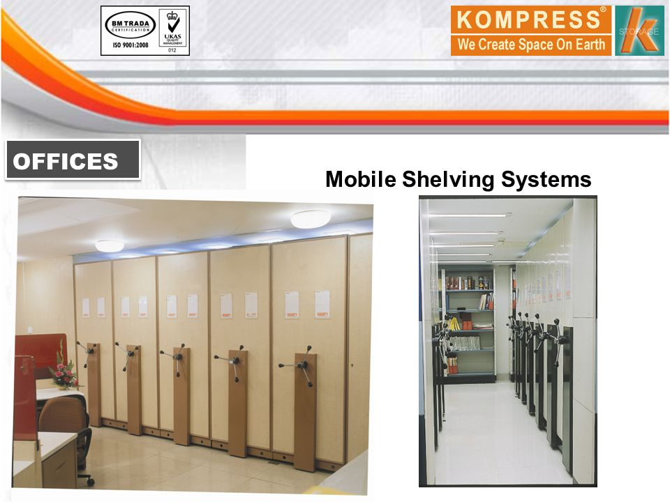 OFFICES Mobile Shelving Systems