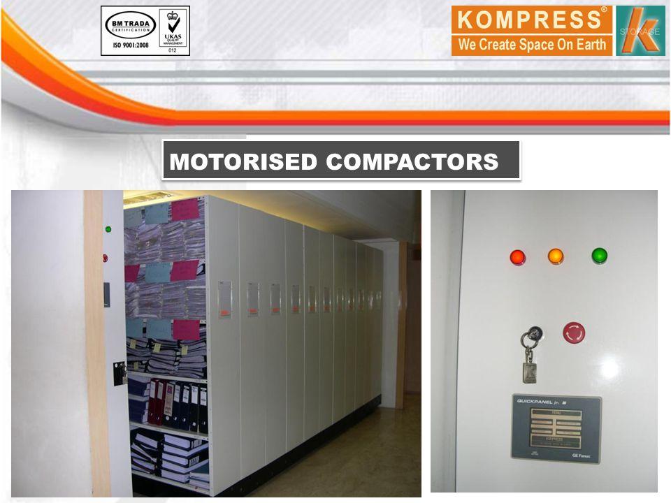 MOTORISED COMPACTORS