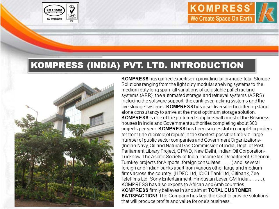 KOMPRESS (INDIA) PVT. LTD. INTRODUCTION