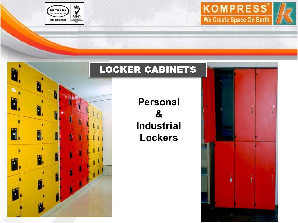Personal & Industrial Lockers