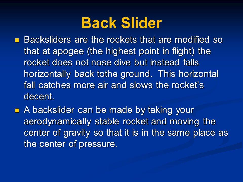 Back Slider