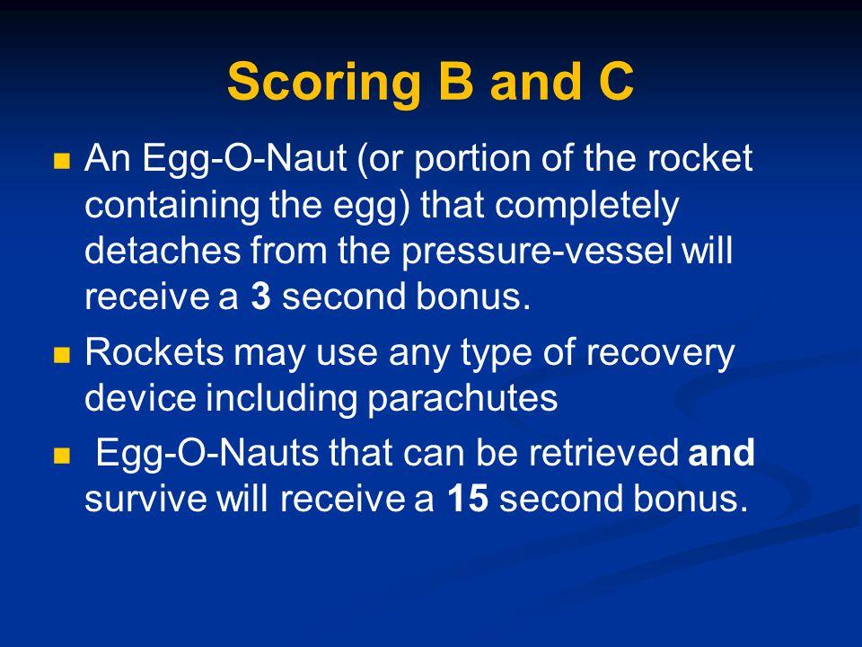 Scoring B and C