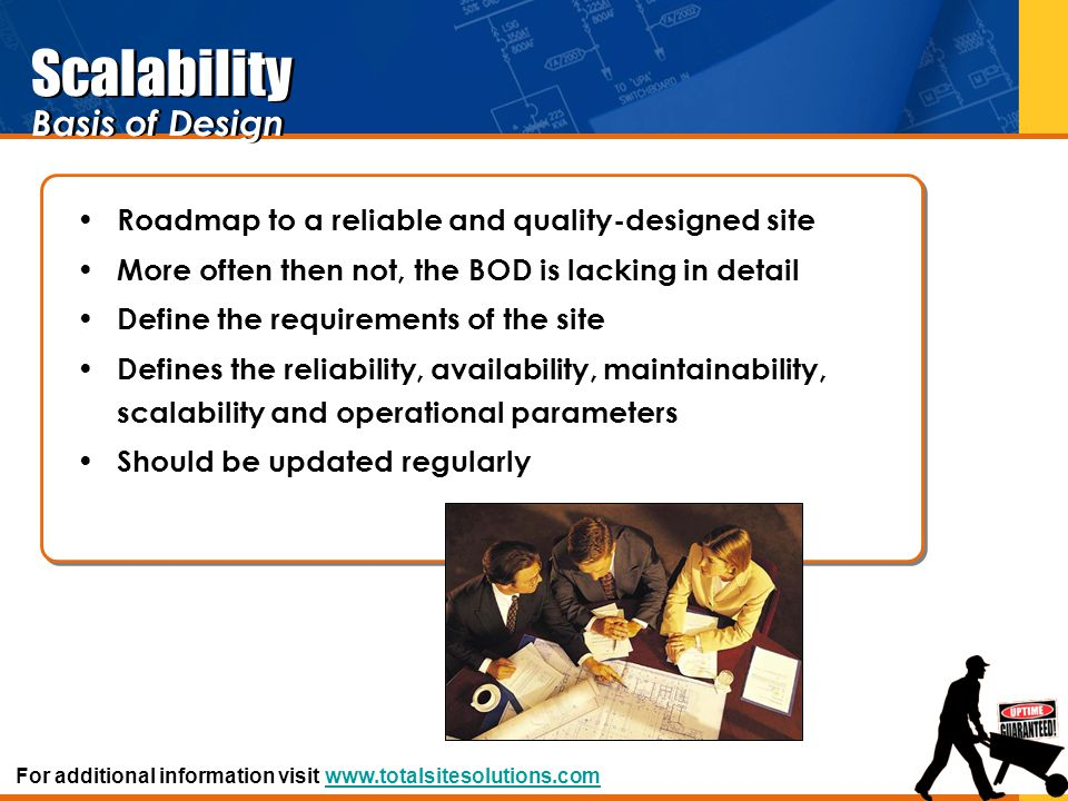 Scalability Basis of Design