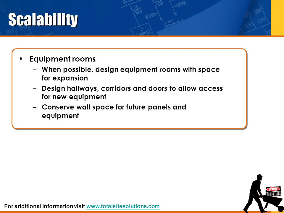 Scalability Equipment rooms