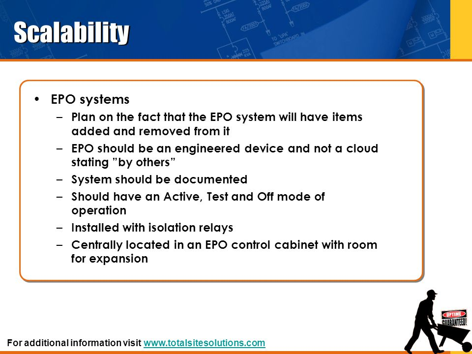 Scalability EPO systems